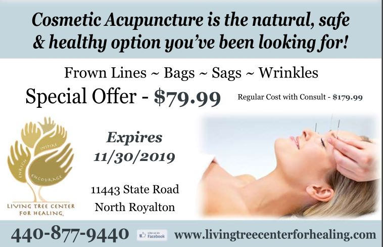 Living Tree Center for Healing Cosmetic Acupuncture Special